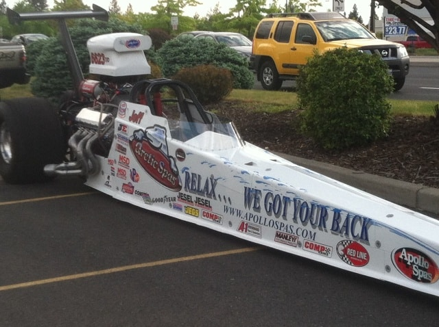 Arctic Spas dragster 1