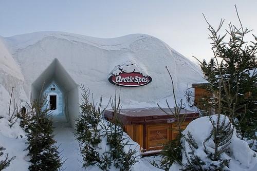 arctic spas hot tub winter festival